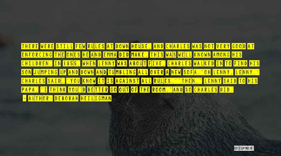 Good Tumbling Quotes By Deborah Heiligman