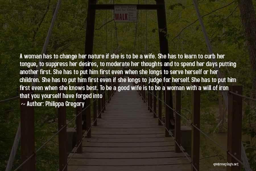 Good Wife Quotes By Philippa Gregory