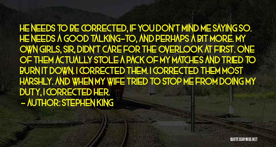 Good Wife Quotes By Stephen King