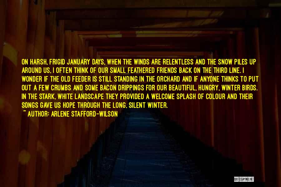 Good Winds Quotes By Arlene Stafford-Wilson