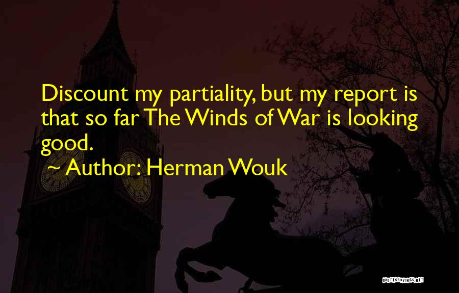 Good Winds Quotes By Herman Wouk