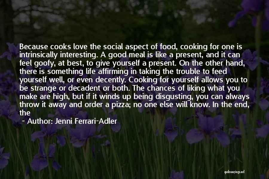 Good Winds Quotes By Jenni Ferrari-Adler