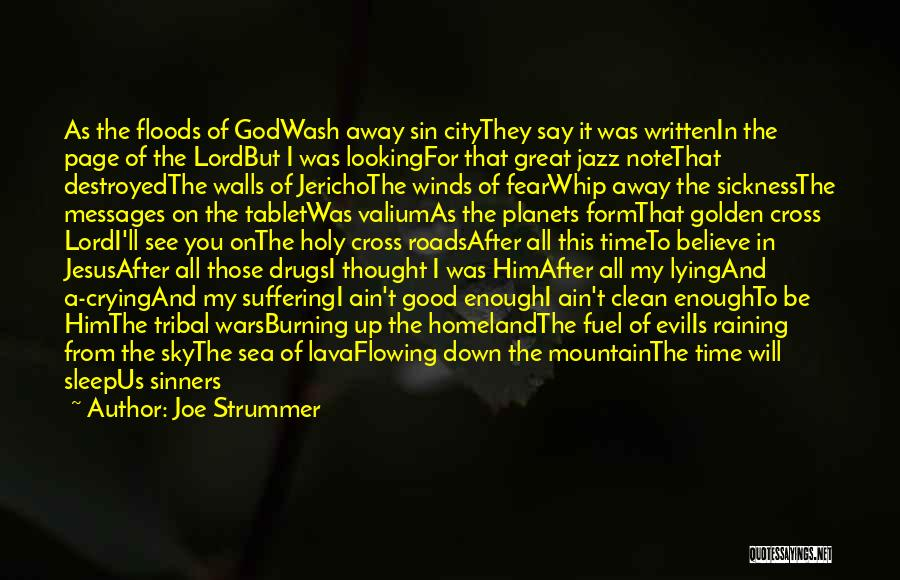 Good Winds Quotes By Joe Strummer