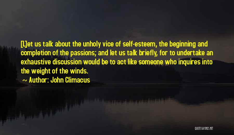Good Winds Quotes By John Climacus