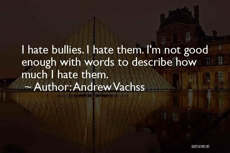 Good Words To Describe Someone Quotes By Andrew Vachss