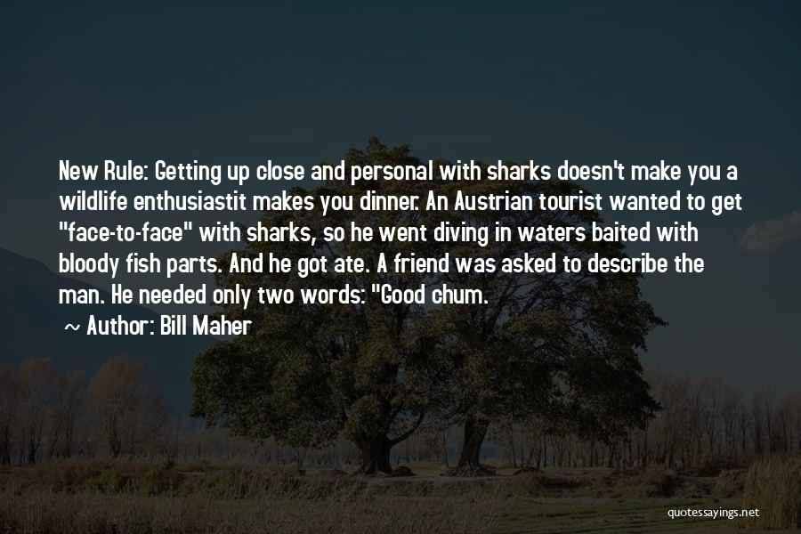 Good Words To Describe Someone Quotes By Bill Maher
