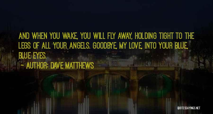 Goodbye In Her Eyes Quotes By Dave Matthews