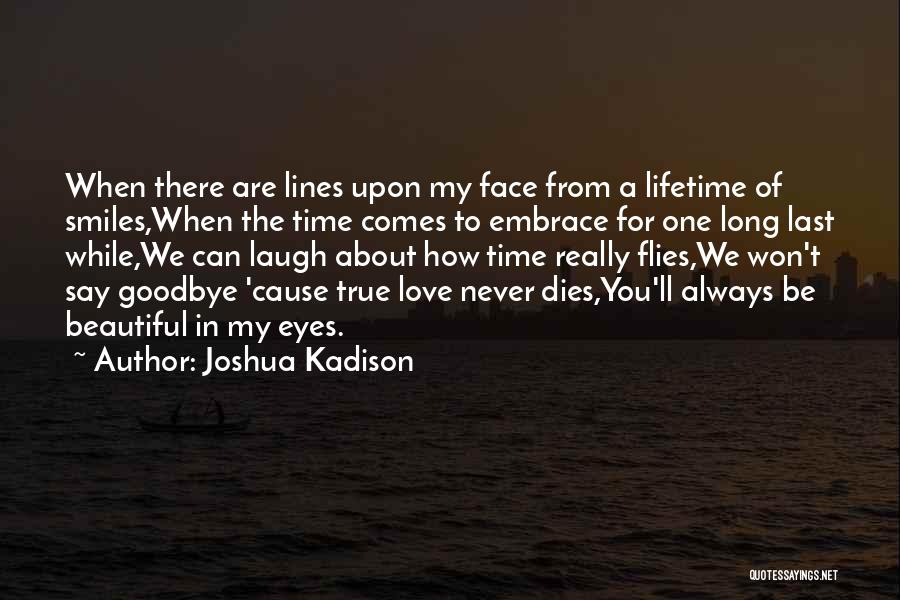 Goodbye In Her Eyes Quotes By Joshua Kadison