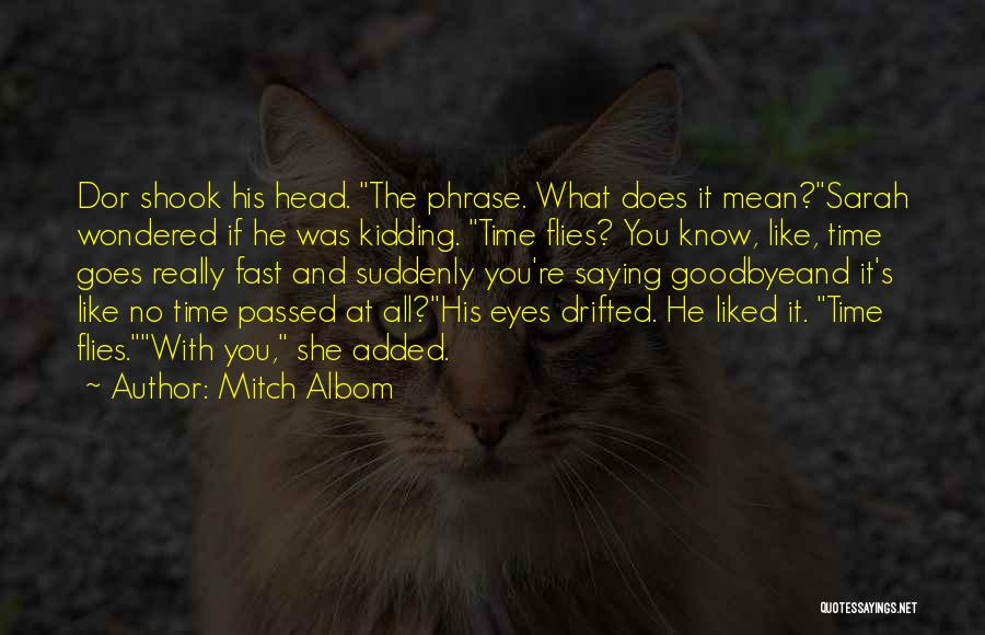 Goodbye In Her Eyes Quotes By Mitch Albom