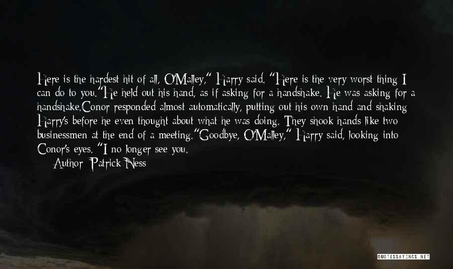 Goodbye In Her Eyes Quotes By Patrick Ness