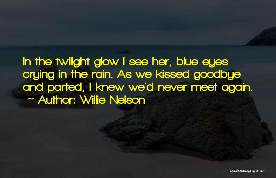 Goodbye In Her Eyes Quotes By Willie Nelson