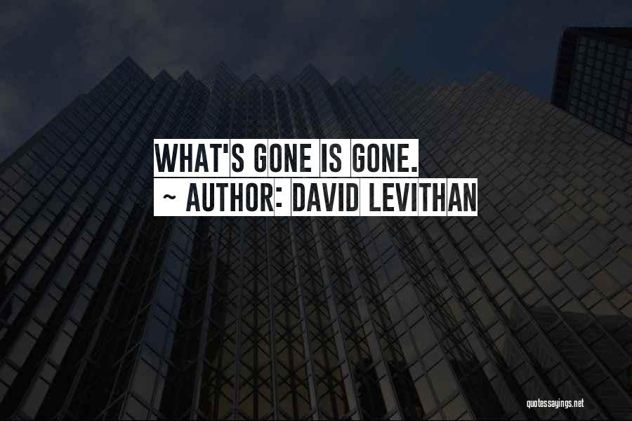 Goodbyes For Now Quotes By David Levithan