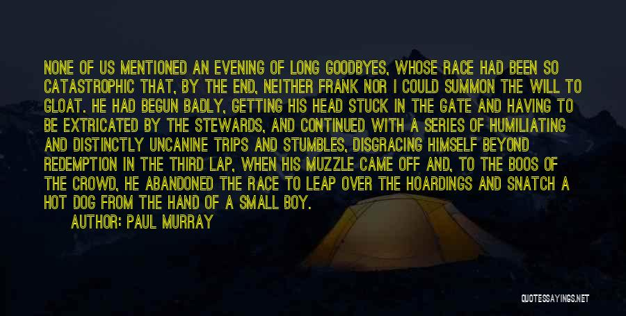 Goodbyes For Now Quotes By Paul Murray