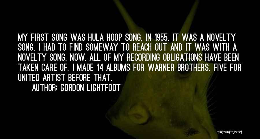 Gordon Lightfoot Quotes 1017931