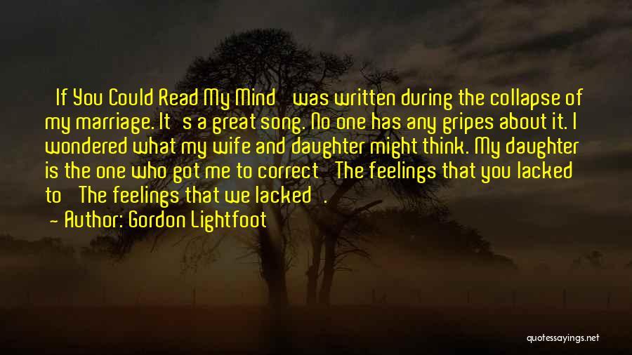 Gordon Lightfoot Quotes 1181988