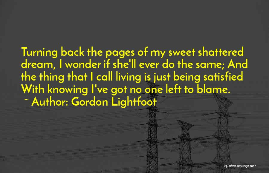 Gordon Lightfoot Quotes 912308