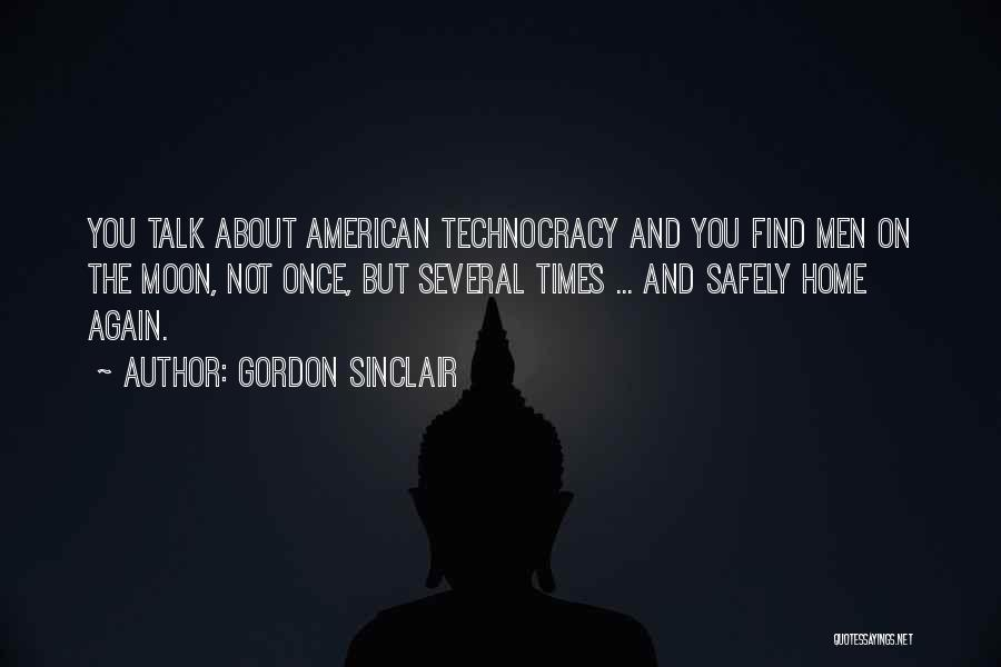 Gordon Sinclair Quotes 1674506