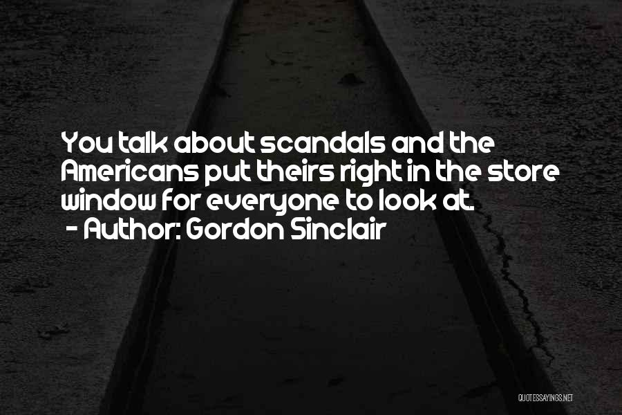 Gordon Sinclair Quotes 500018