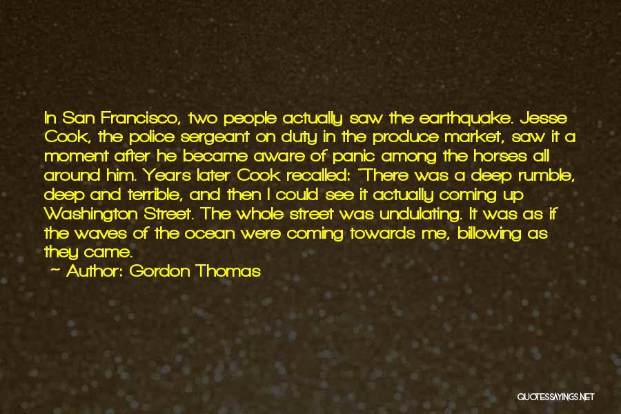Gordon Thomas Quotes 390947
