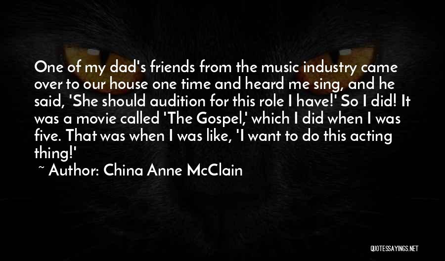 Gospel Music Quotes By China Anne McClain