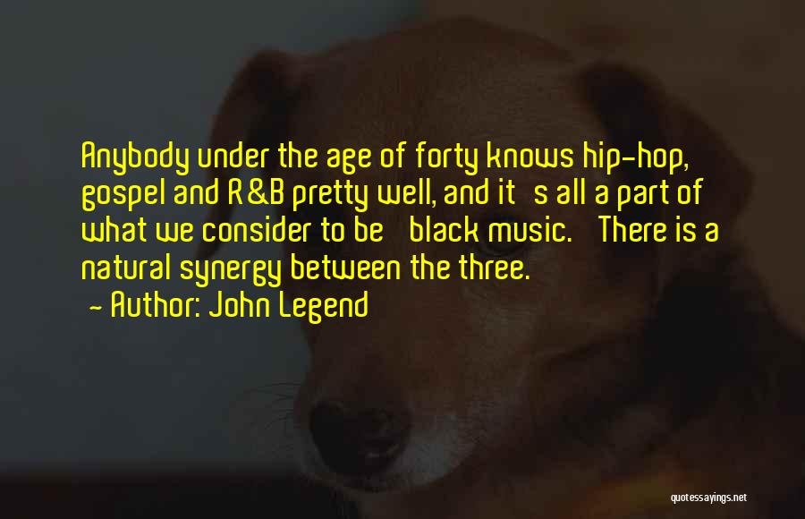 Gospel Music Quotes By John Legend