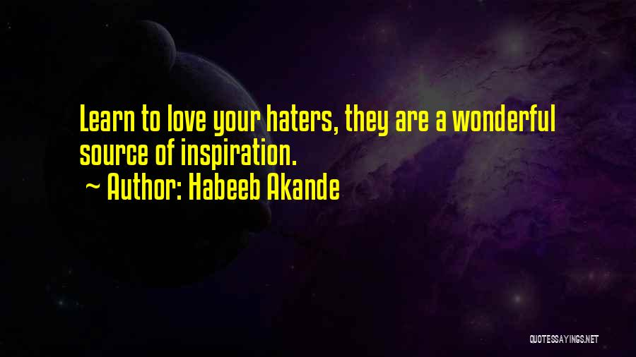 Gossip And Haters Quotes By Habeeb Akande