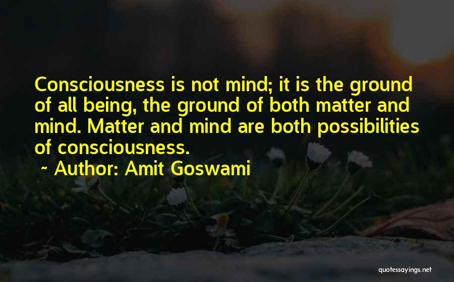 Goswami Quotes By Amit Goswami