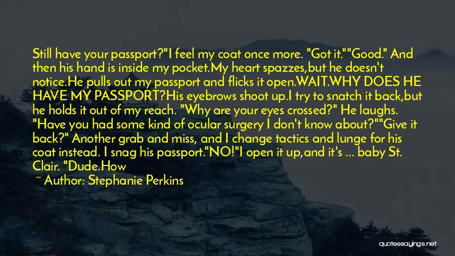 Got To Give It Up Quotes By Stephanie Perkins