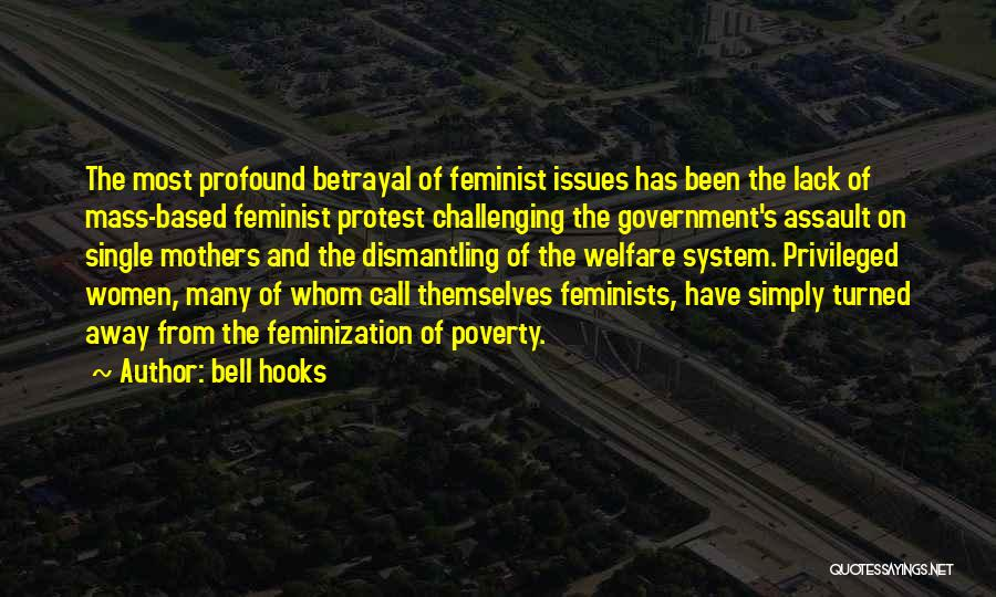Government And Poverty Quotes By Bell Hooks
