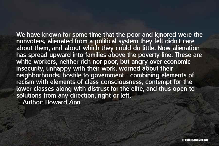 Government And Poverty Quotes By Howard Zinn