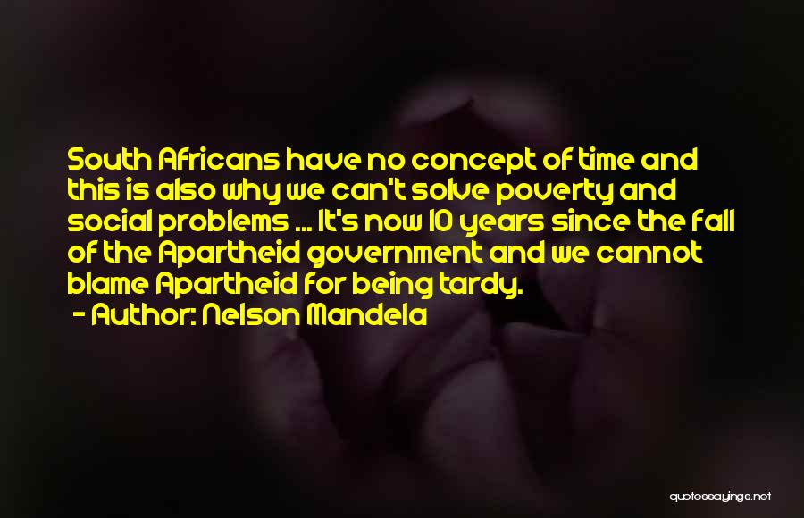 Government And Poverty Quotes By Nelson Mandela
