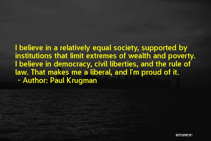Government And Poverty Quotes By Paul Krugman