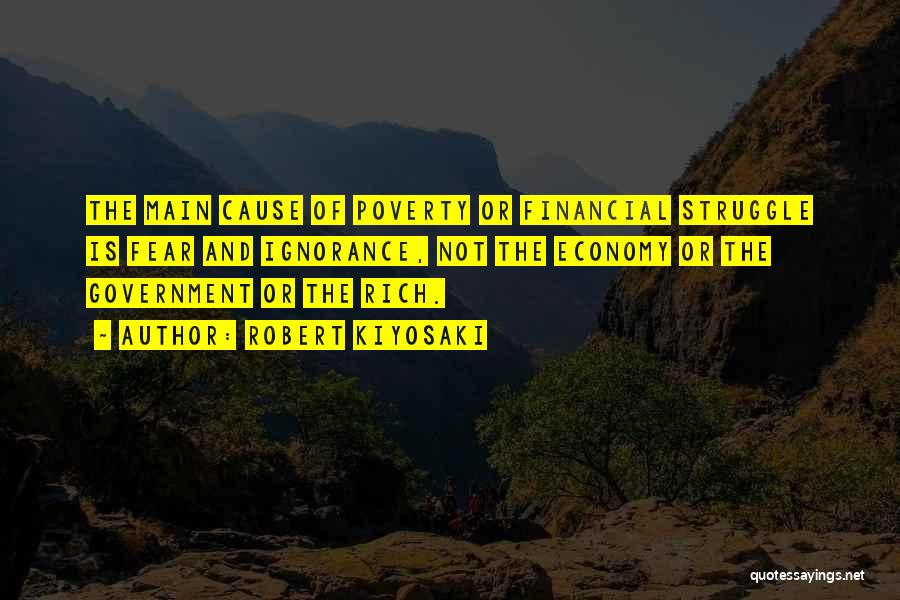 Government And Poverty Quotes By Robert Kiyosaki