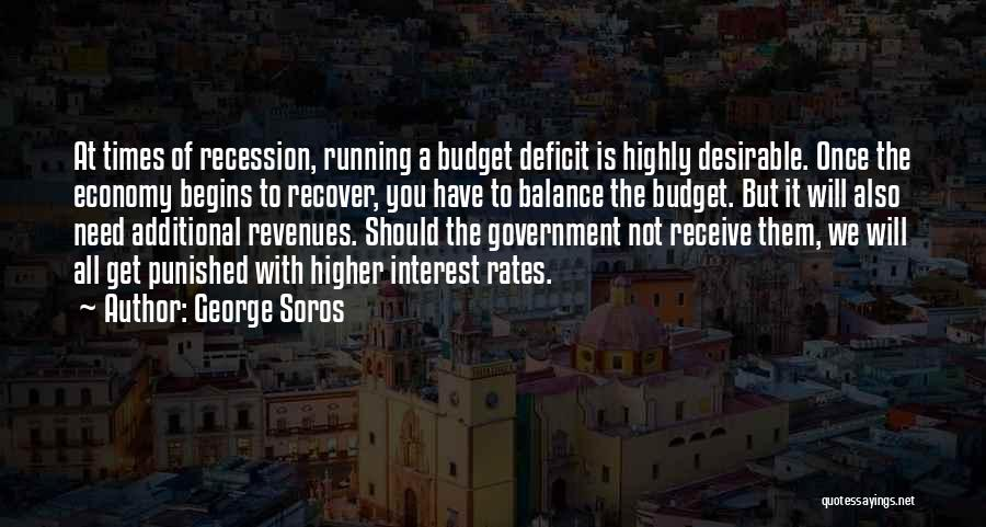 Government Deficit Quotes By George Soros