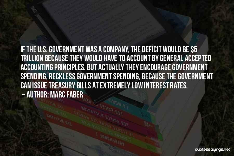 Government Deficit Quotes By Marc Faber