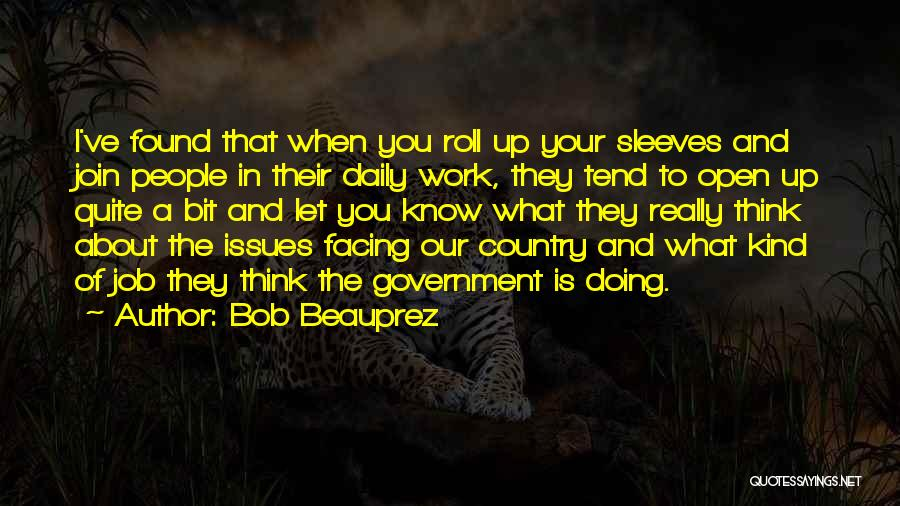 Government Job Quotes By Bob Beauprez