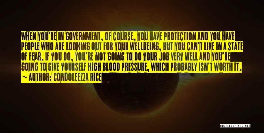 Government Job Quotes By Condoleezza Rice