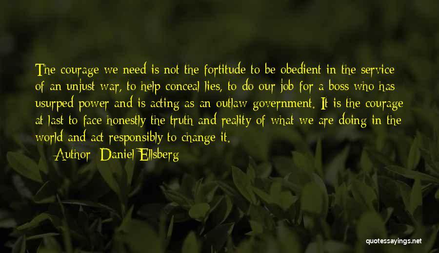 Government Job Quotes By Daniel Ellsberg