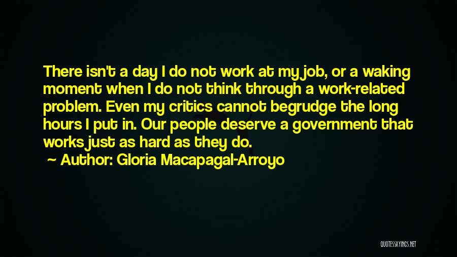 Government Job Quotes By Gloria Macapagal-Arroyo