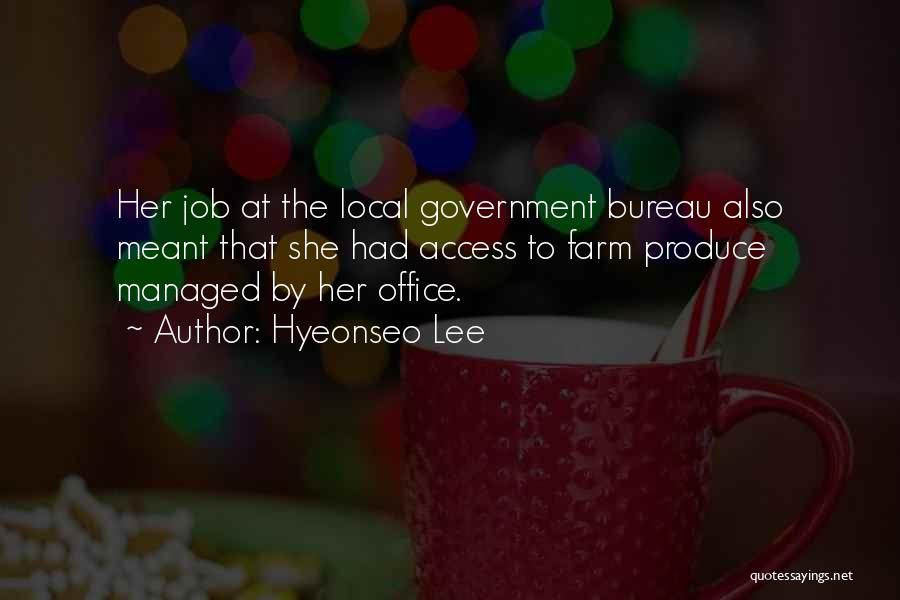 Government Job Quotes By Hyeonseo Lee