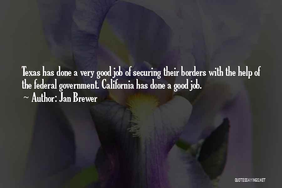 Government Job Quotes By Jan Brewer