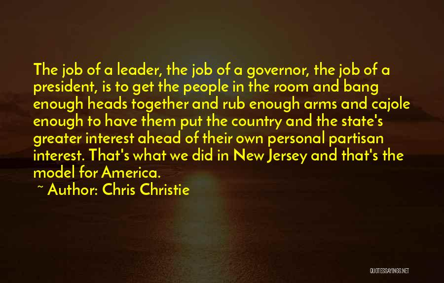 Governor Christie Quotes By Chris Christie