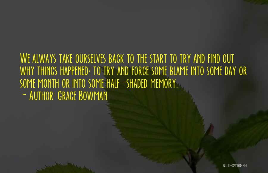 Grace Bowman Quotes 1812098