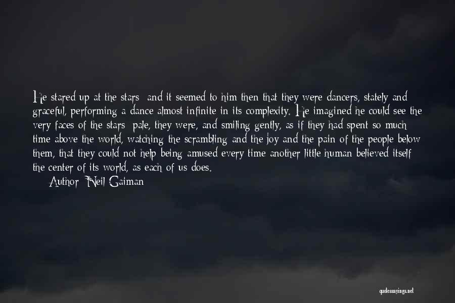 Graceful Dance Quotes By Neil Gaiman