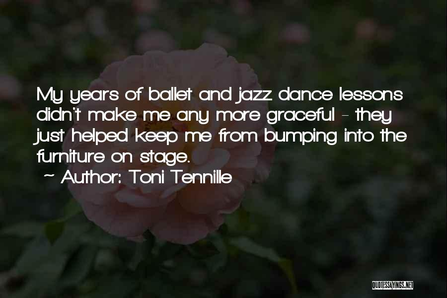 Graceful Dance Quotes By Toni Tennille