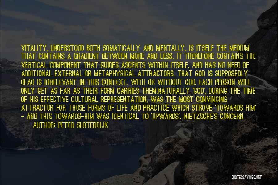 Gradient Quotes By Peter Sloterdijk
