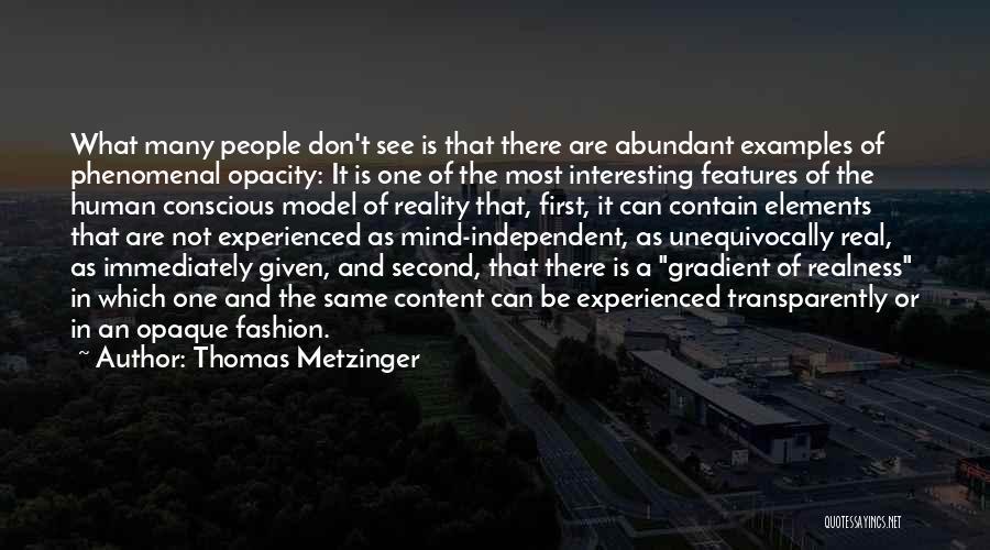 Gradient Quotes By Thomas Metzinger