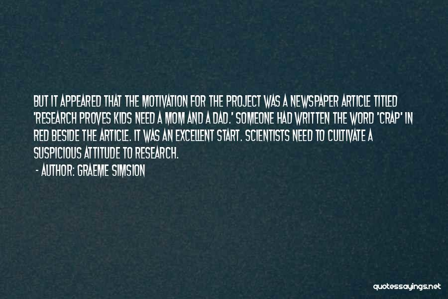 Graeme Simsion Quotes 1011885