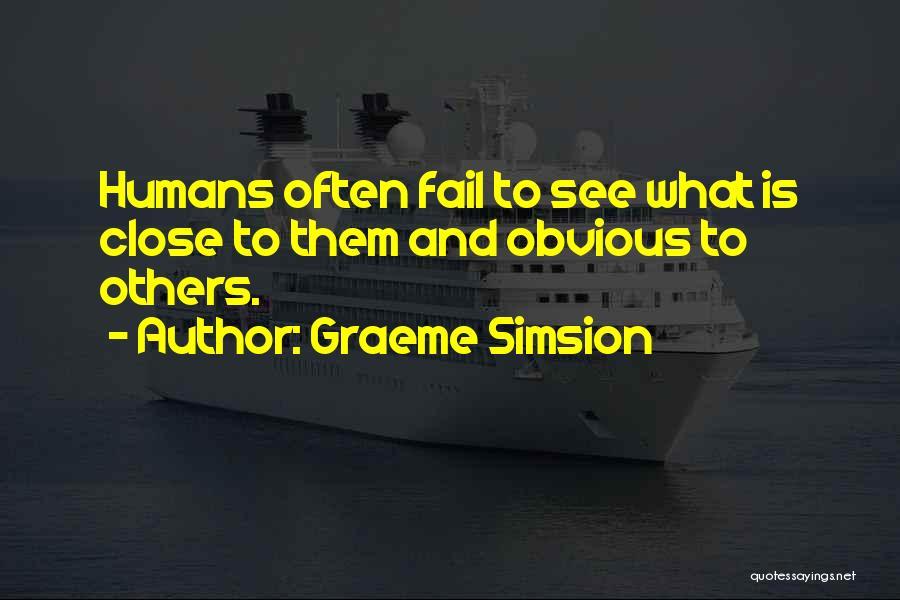 Graeme Simsion Quotes 1054954