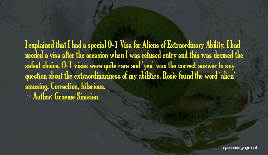 Graeme Simsion Quotes 1208778